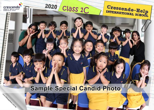 YEAR 1C - Class Photo 2020 CHIS - Special Candid